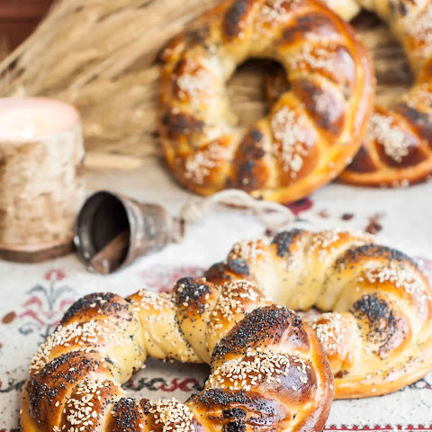 Ukrainian Holiday Bread (Kalach)