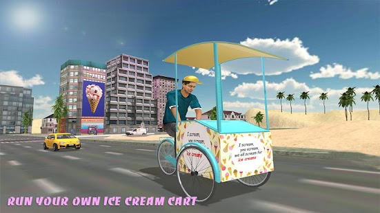 Beach Ice Cream Man - screenshot