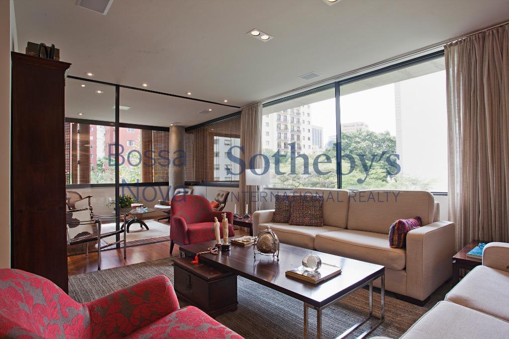 Apartamento com terraço, projeto primoroso.