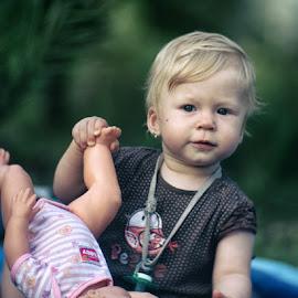 *** by Valentyn Kolesnyk - Babies & Children Child Portraits