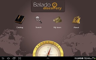Screenshot of BaladoDiscovery - GPS tours