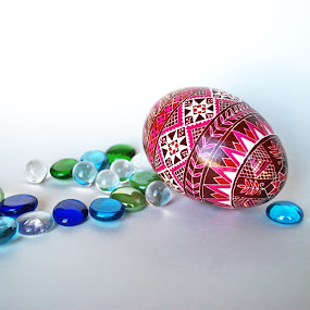 Pink by Anika McFarland - Artistic Objects Other Objects ( easter egg, pink, egg, psanky, pink egg )