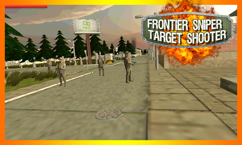 android Frontier Sniper Target Shooter Screenshot 2