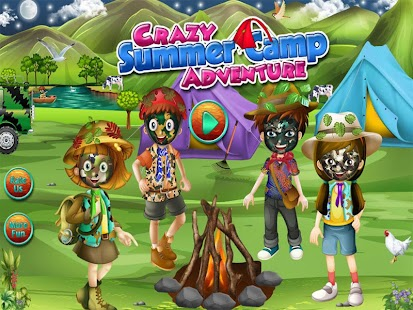 Crazy Summer Camp Adventure - screenshot