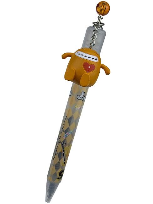 "Игрушка Dooo: ""Sunny Twin"" Ручка Шариковая с брелком - 15 см"
