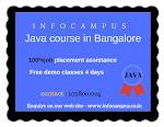 Best core java training in Bangalore