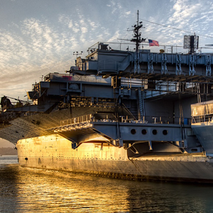 USS Midway Live Wallpaper