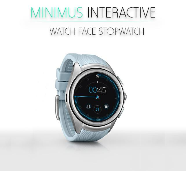 Minimus Interactive Watch Face Screenshot 5