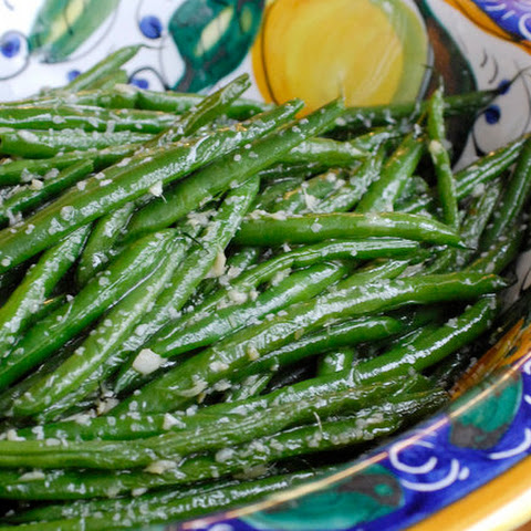 String Beans With Ginger and Garlic
