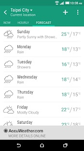 Download Android App HTC Weather for Samsung