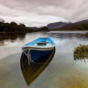 Irelands Loughs by Brens Photo's - Landscapes Mountains & Hills ( clouds, mountians, lake, lough, light, 5d, mist, cannon )