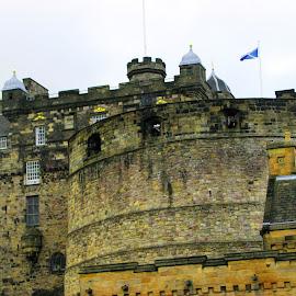 Edinburgh Castle, Scotland by Lin Kelly - Buildings & Architecture Public & Historical ( edinburgh;scotland;castle,  )