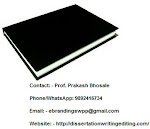 Professional Black book printing services in Lucknow for MBA projects