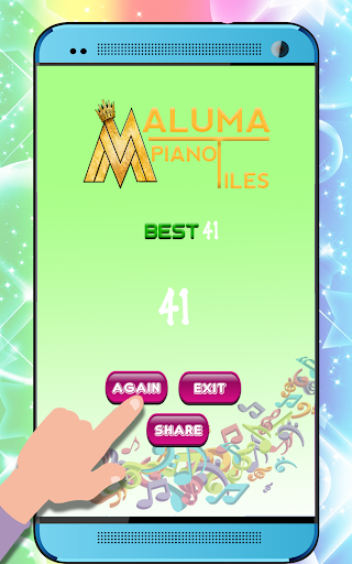 Maluma Piano Tiles For PC