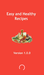 Easy And Healthy Recipes - screenshot