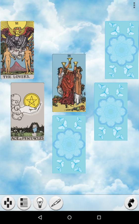 Galaxy Tarot Pro Screenshot 12