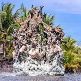 by Eduard Andrica - City,  Street & Park  Fountains