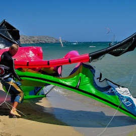 Fights with Kites by Tomasz Budziak - Sports & Fitness Watersports ( fitness, kite, sport )