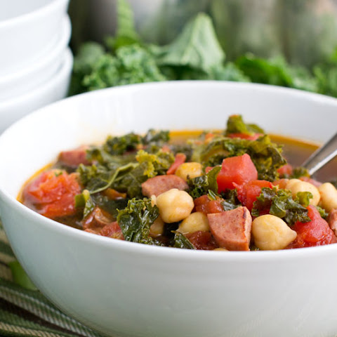 Kale and Kielbasa Soup