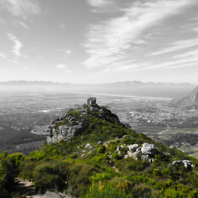 Look-out post by Kirsty Wilkins - Novices Only Landscapes ( elephant's eye, silvermine )