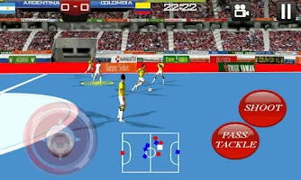Screenshot of Futsal Game