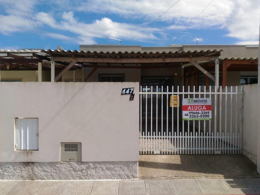 Casa com 2 dormitórios para alugar, 65 m² por R$ 790,00/mês - Joaia - Tijucas/SC