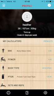 Gymcalc Expert - screenshot