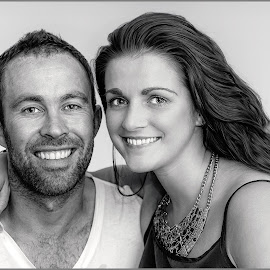Hayley and Roger by Stephen Crawford - People Couples ( home, hayley, family, engaged, fun, relaxing, roger, portrait,  )