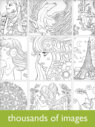Colorfy: Coloring Book for Adults - Free screenshot 3