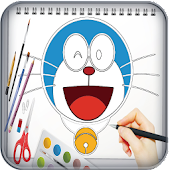 Download Learn Drawing Doraemon APK for Android Kitkat