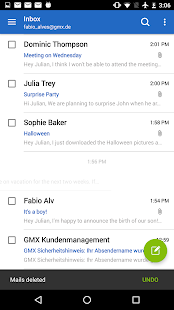 Free Download GMX Mail APK for Samsung