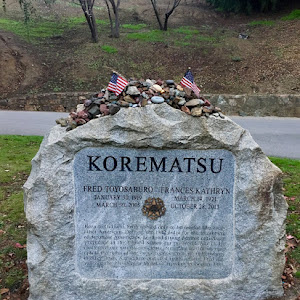 I biked up to Mt View Cemetery this morning to wish Oakland hero #FredKorematsu a happy 100th birthday, then made a donation to the #KorematsuInstitute to continue his legacy of social justice & ...