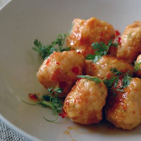 Cocktail Shrimp Balls With Sweet Chili-garlic Sauce