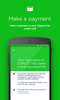 Screenshot of Capital One UK
