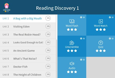 Reading Discovery 1 - screenshot
