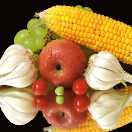 COLOURED by SANGEETA MENA  - Food & Drink Fruits & Vegetables