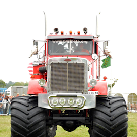 Big Pete by Neil Wilson - Transportation Automobiles