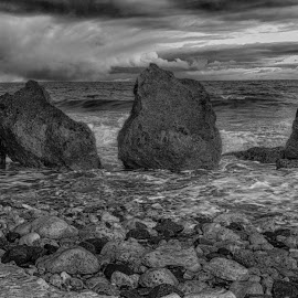 winter at trow rocks by Dave Thompson - Uncategorized All Uncategorized