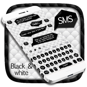 SMS Black And White Keyboard For PC / Windows 7/8/10 / Mac – Free Download