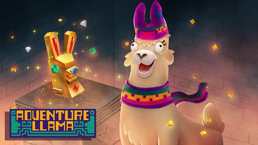 Adventure Llama Screenshot