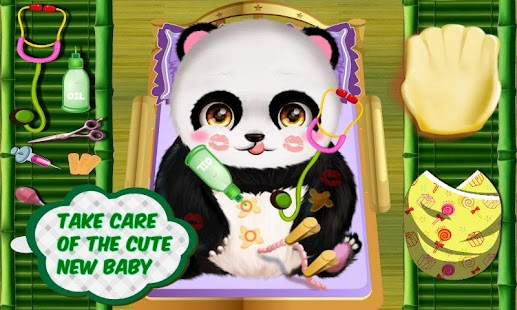 Panda Mommy's Newborn Baby- screenshot thumbnail