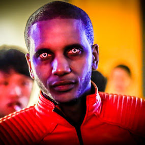 Thriller by Valliappan Chellappan - People Portraits of Men ( scary, thriller, michael jackson, eyes, halloween )