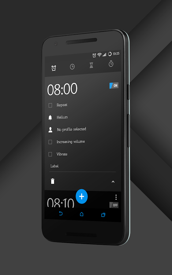 Sense Black/Blue cm13 theme Screenshot 19