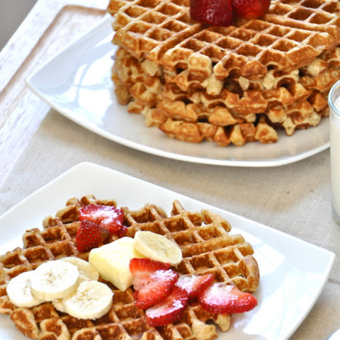 Toasted Oatmeal & Honey Waffles