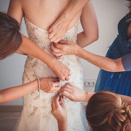 by Daniel Anghelache - Wedding Getting Ready ( preparation, dress, bride )