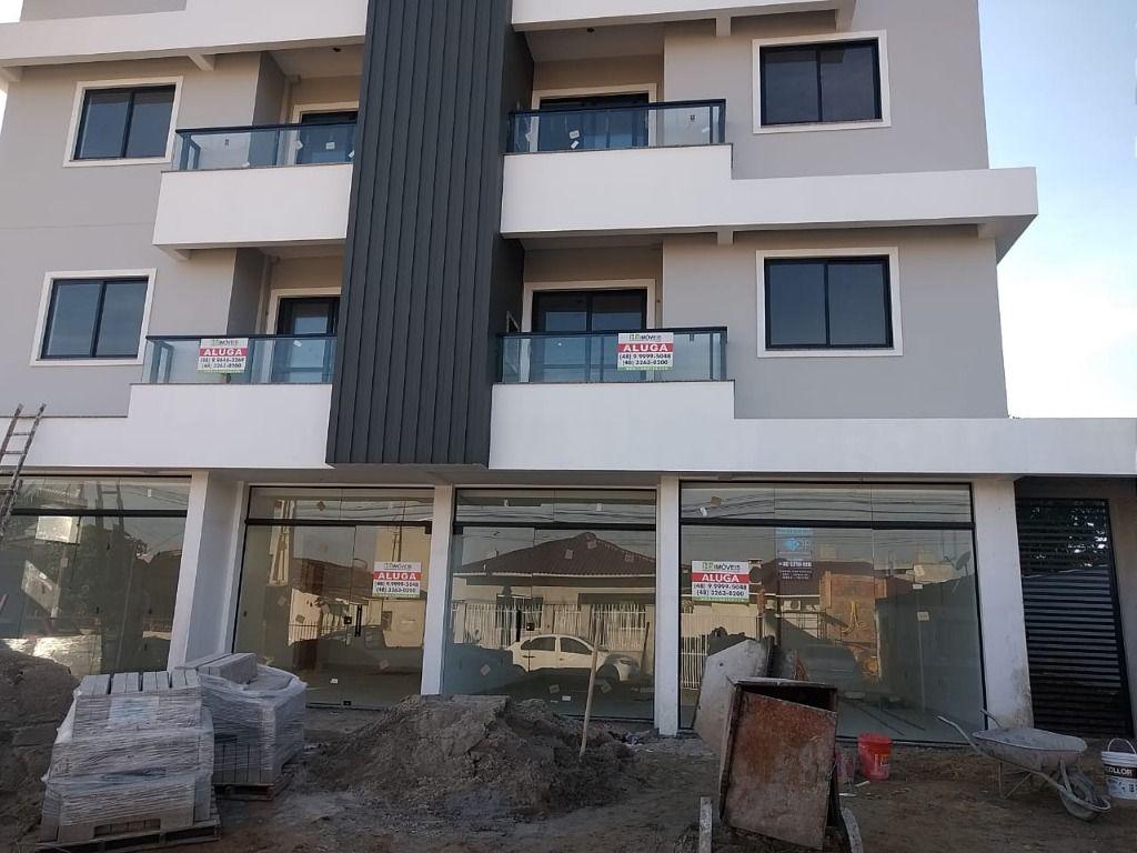 Apartamento com 2 dormitórios para alugar por R$ 1.500/mês, com elevador - Centro - Tijucas/SC