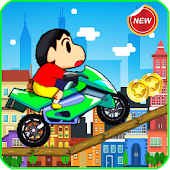 Shin Bike Rider APK for Bluestacks