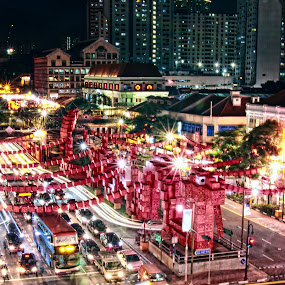 Chinese New Year the year of Snake year 2013 by Sim  Chee teck - Landscapes Starscapes