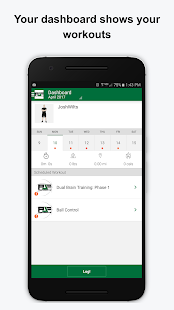 PJF Performance Fitness app screenshot for Android