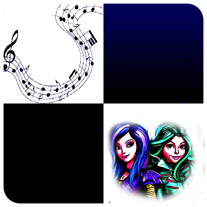 piano tiles descendants 2 For PC
